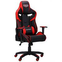 Геймерське крісло VR Racer Expert Winner чорний/червоний, TM AMF