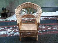 """Плетеное кресло из лозы """"Капля +"""""""
