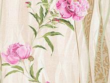 Обои на стену,  бумажные, цветы, B27,4 Пиони 8131-05 , 0,53*10м, фото 3