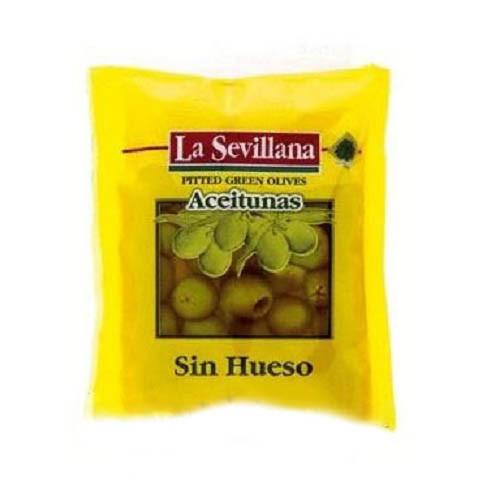 Оливки зеленые La Sevillana 180 мл ПАКЕТ