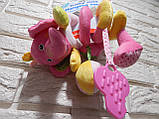 """Мягкая развивающая игрушка , активная спираль """" Забавный слоненок """" Baby mix, фото 2"""