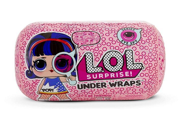 Куклы L.O.L. Surprise! Оригинал ЛОЛ Сюрпрайз 4 серия Under Wraps Андер Врепс