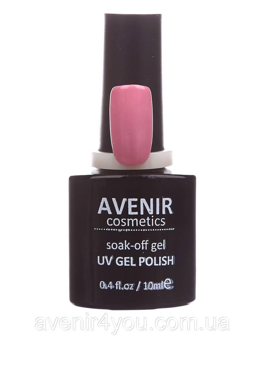 Гель-лак AVENIR Cosmetics №36.Пыльно-фиалковый