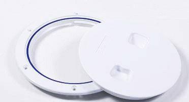 Инспекционный лючок, белый, диаметр 10см, фото 2