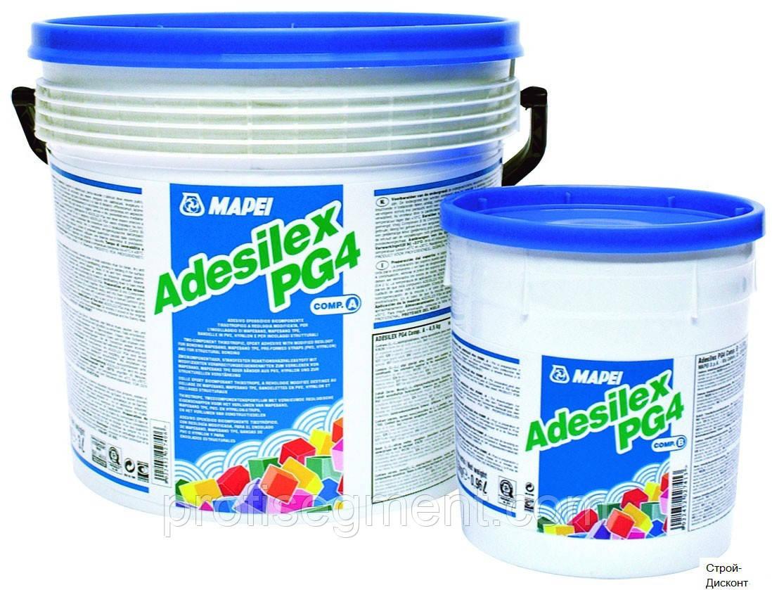 Двокомпонентний тиксотропний епоксидний клей-склад Mapei Adesilex PG4/ компонент A/4.5 + В/1,5,Харків