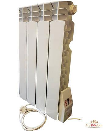Электрорадиатор Эра 4 секции - отопление 8 кв.м, фото 2
