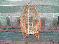 Плетеное кресло для отдыха из лозы