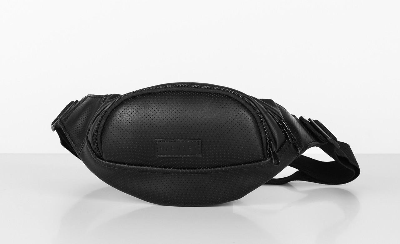 a842c0ace424 Поясная сумка бананка черная Perf Black HARVEST (сумка на пояс, сумка  женская, мужская