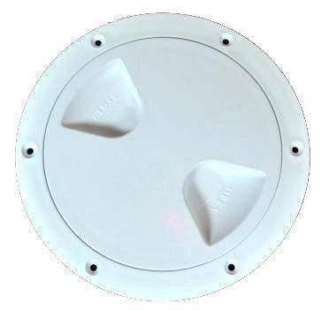 Лючок инспекционный 203.2mm белый, фото 2