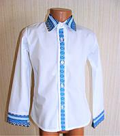 Рубашки вышитые, вышиванки детские для мальчиков в школу. 30-36 рр., фото 1