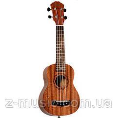 Электроакустическое укулеле сопрано Osten UK122-EA с пьезодатчиком