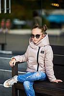 Куртка зимняя на синтепоне подкладка флис для девочки рост:128-152см РАСПРОДАЖА!