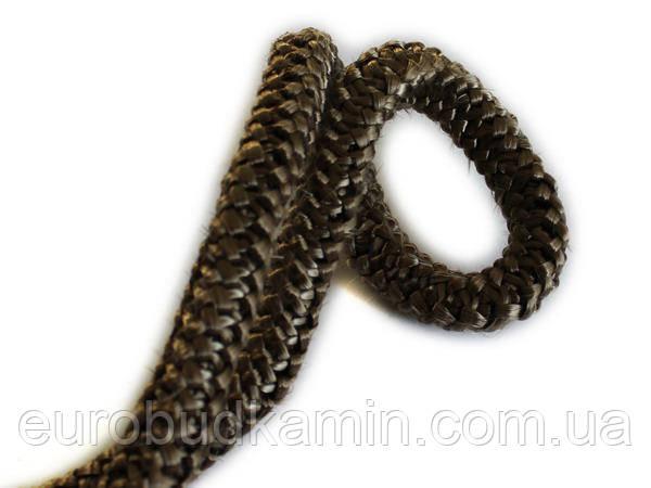 Керамический шнур уплотнительный огнестойкий 12мм