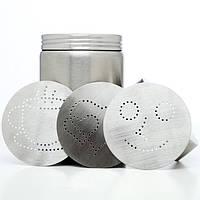 Декоратор для какао с 4-ма сменными узорами МОТТА