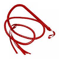 Плетка большая красная