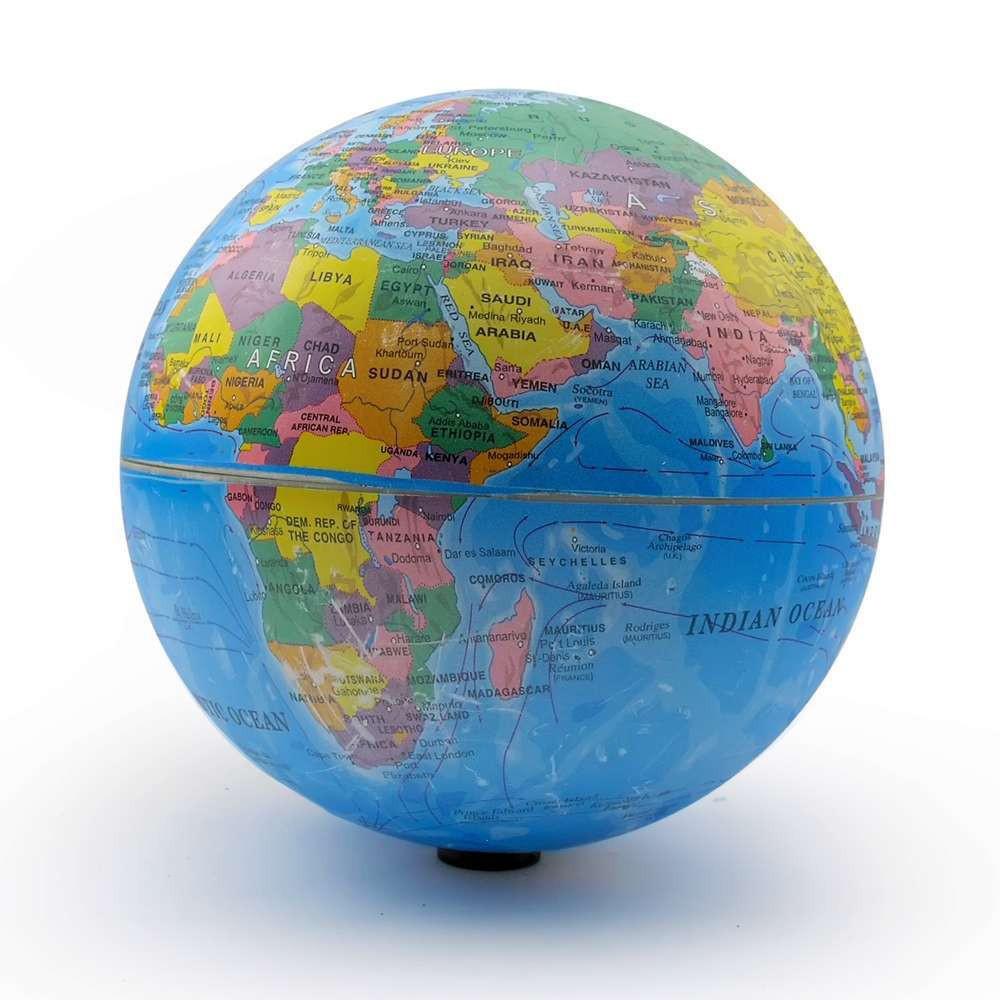 Глобус вращается 160 мм возможна неровная поверхность