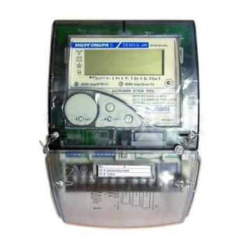 Счетчик электроэнергии CE 303-U AR S35 543-JAVZ 3x230/400В 5-10А, А+R+, многофункциональный
