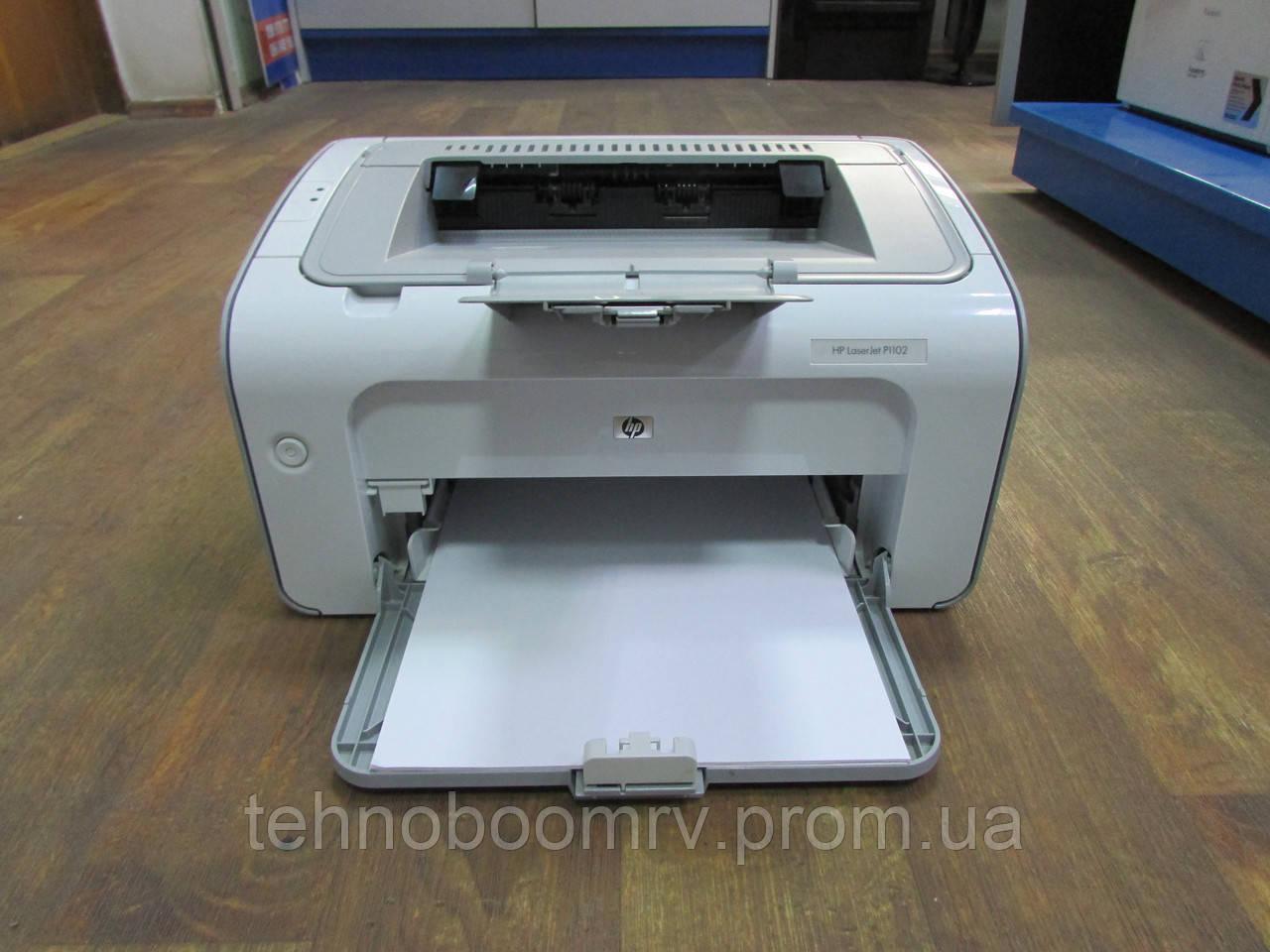 Лазерный принтер HP LaserJet P1102 - ч/б 18стр/мин