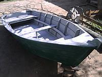 Лодка из дерева(без покраски )