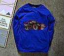 Реглан для мальчика с пайетками авто, фото 2