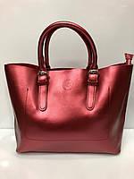 Кожаная женская сумка брендовая