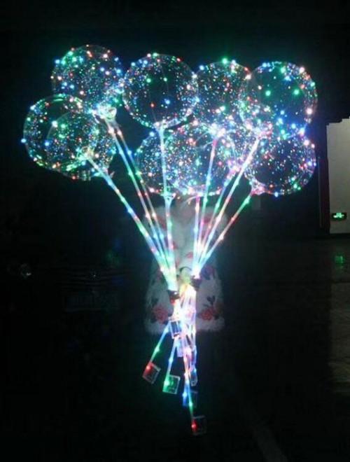 Прозрачные шары на палочке в Днепре
