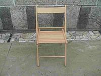 Плетеный раскладной стул из лозы