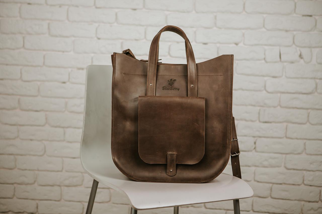 ea513f736a60 Сумка женская, большая сумка через плечо, шкіряна сумка, Violo, сумка из  кожи Crazy Horse, ...