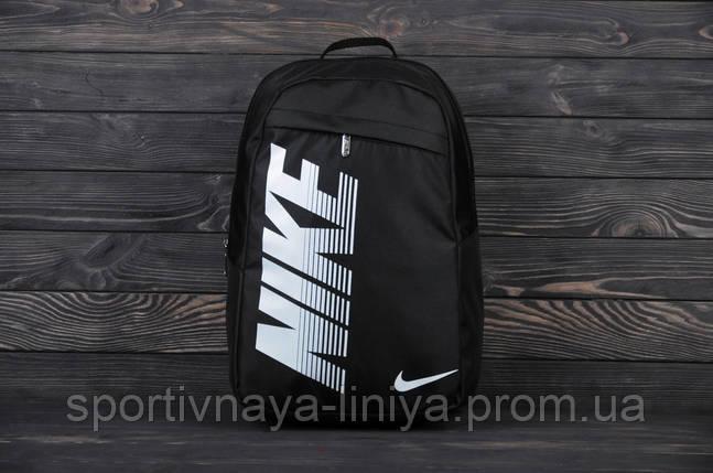 Спортивный черный рюкзак Nike Pioneer (реплика), фото 2