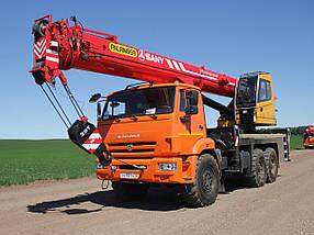 Автокран Palfinger Sany SPC250,  г/п 25 т на шасси КАМАЗ, фото 2