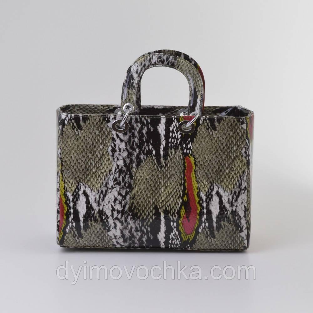 544deae7d5e6 Женская Сумка Dior Змея Натуральная — в Категории
