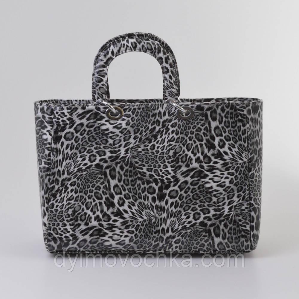 a280847cba31 Женская Сумка Dior Леопард Ч б — в Категории