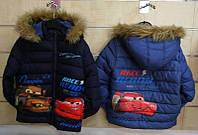 Куртка утепленная для мальчиков оптом, Disney, 98-134 см,  № 85663