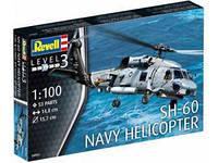 Revell —Сборная модель 1/100 SH-60 Navy Вертолет (04955)