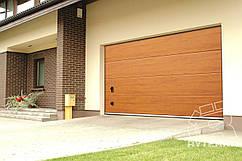 Секційні гаражні ворота Ryterna