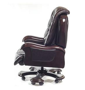 Крісло АКЛАС Цезар CH RL Темно-коричневе, фото 2