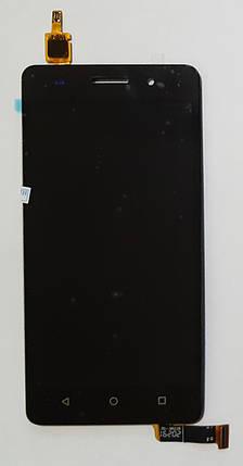 Модуль (сенсор + дисплей LCD) для Huawei Honor 4C чорний, фото 2