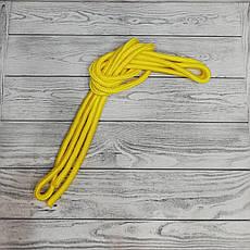 Скакалка гимнастическая желтая