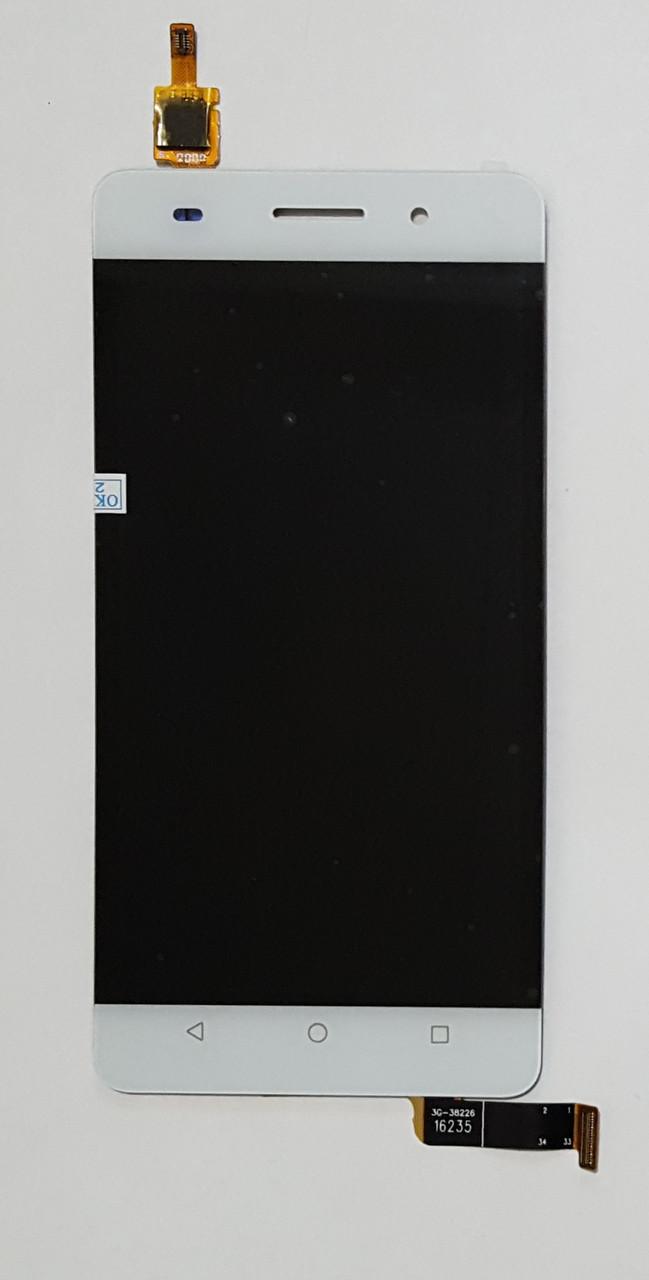 Модуль (сенсор + дисплей LCD) для Huawei Honor 4C білий