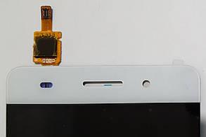 Модуль (сенсор + дисплей LCD) для Huawei Honor 4C білий, фото 2