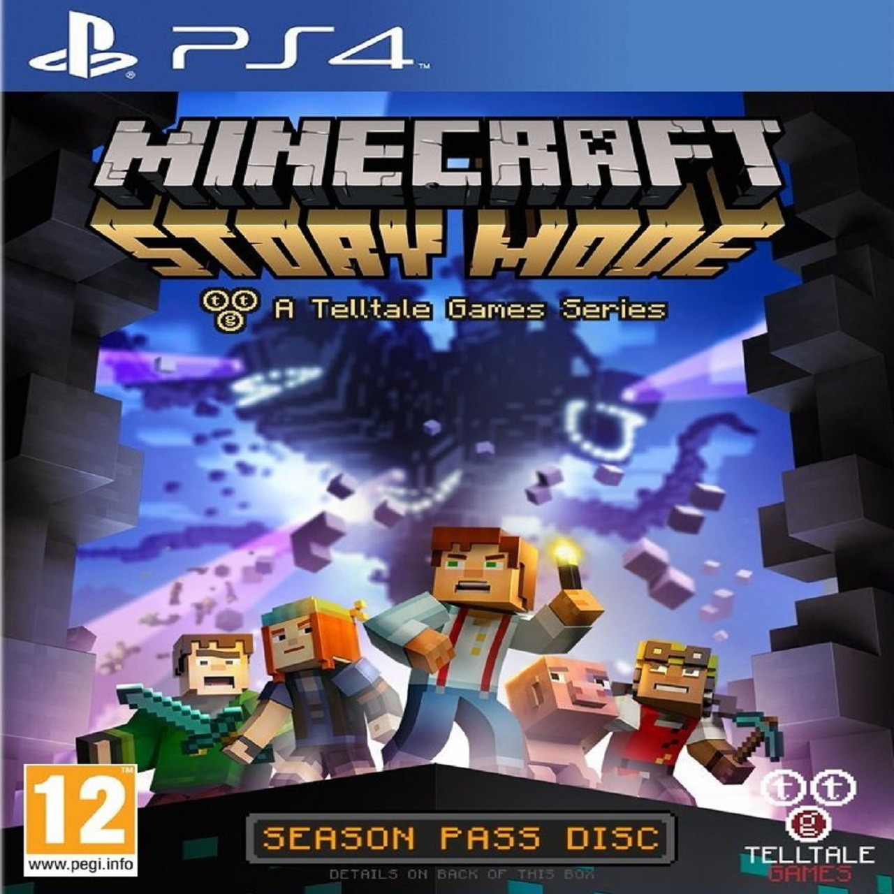 Minecraft: Story Mode RUS PS4 (Б/В)
