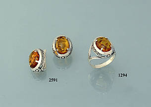 Набор с янтарем, фото 2