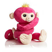 Мягкая интерактивная обезьянка - обнимашка Белла WowWee (W3530/3532)