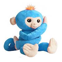 Мягкая интерактивная обезьянка-обнимашка Борис WowWee Fingerlings (W3530/3531)
