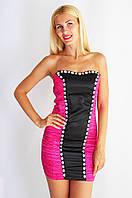 Платье подросток 1295 розовый