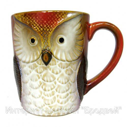 Чашка для чая керамическая Сова