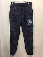 Подростковые спортивные брюки на манжете для мальчика 140 см