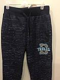Подростковые спортивные брюки на манжете для мальчика 140 см, фото 2