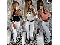 Женская кофта-шнуровка мод.197, фото 1