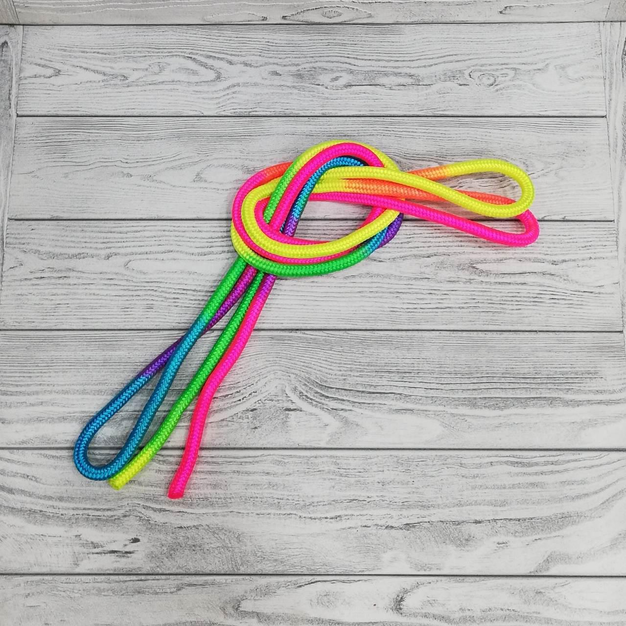 Скакалка гимнастическая радуга